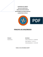 Informe 1 - Principio de Arquimedes