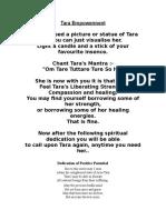 Tara Empowerment