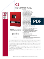 DS1005 JFS-C1 Control Panel Revision 03-19-15