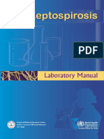 Laboratory Manual Leptospirosis WHO, 2007