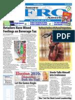 Baltimore Afro-American Newspaper, July 10, 2010