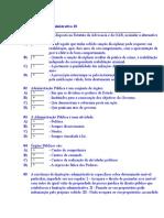 Teste de Direito Administrativo 18