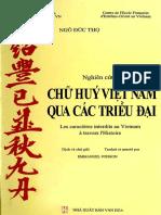 Chữ Huý Việt Nam Qua Các Thời Đại (1) - Ngô Đức Thọ