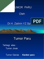 11. Kuliah Tumor Paru Sp.p 2012