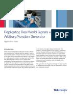 Arbitrary Waveform Generator - Replicating Signals Easily