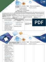Guía de Actividades y Rubrica de Evaluación Unidad 1 Fase 0 - Reconocimiento