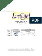 Procedimiento de Emergencia Luz@Tel