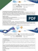 Guía de Actividades y Rúbrica de Evaluación - Unidad 1 - Fase 1 - Revisión de Las Opciones de Grado_1_2017