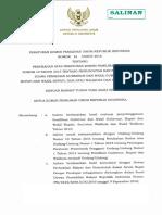 PKPU 14 2016 Perubahan Atas PKPU No 10 Tahun 2015 Tentang Pemungutan Dan Penghitungan Suara