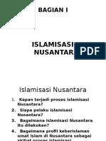 Bagian i; Islamisasi Nusantara - Copy - Copy