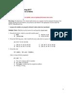 Exam 1 Program