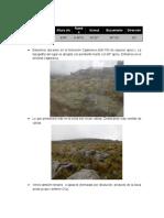 Segundo Informe de Campo de Geologia General
