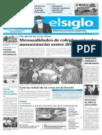 Edición Impresa Elsiglo 02-03-2017