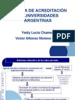 Sistemas de Acreditación de Universidades Argentinas