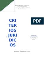 12. Criterio Jurisprudencial