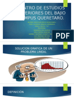 Solucion Grafica a Un PL