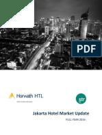 Full Year 2016 Jakarta Hotel  Market Overview