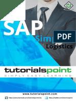 Sap Simple Logistics Tutorial
