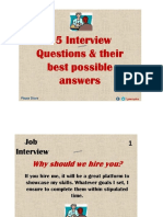 15Best Interview Questions