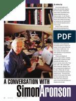 Simon Aronson Interview