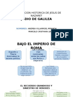 Aproximacion Historica de Jesus de Nazaret_andrea Villarroel Miranda y Marcelo Cristhian Leon Muñoz