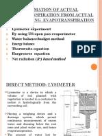 Evapotranspiration (Hydrology)