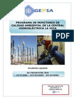 Monitoreo Ambiental Trimestre IV 2016 GEPSA
