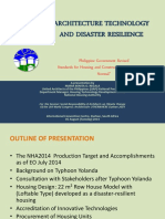 3-2. Architecture Technology and Disaster Resilience
