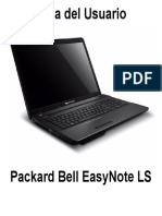Manual Packard Bell español EasyNote LS.