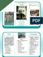 Brosura de Prezentare a Scolii