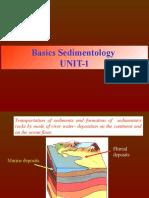 Sedimentology Lecture 1