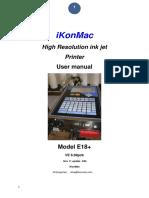 E18+ V6 manual