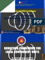 Budgeting Framework Rd i Cl