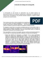 Criterios Para La Contratación de Trabajos de Termografía Infrarroja