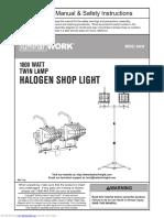 Halogen Shop Light Luminar 66439