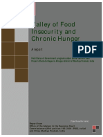 Valley of Food Insecurity and Chronic Hunger