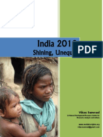 India 2012-Shining, Unequal