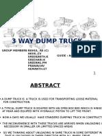 3 Way Dump Truck