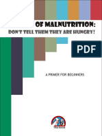 Stories of Malnutrition -Don't tell them they are Hungry!