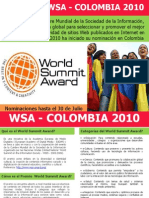 WSA - Colombia 2010
