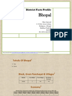 District Facts Profile Bhopal