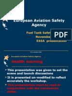 Docslide.us Fts November 2007 European Aviation Safety Agency Fuel Tank Safety Training November 23 2007 Easa Presentation
