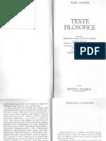 01. K. Jaspers - Originile filosofiei (cauzele filosofarii; p. 5-14).pdf