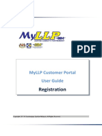 MyLLP Customer Portal User Guide - Registration