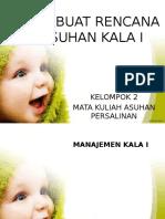 MEMBUAT RENCANA ASUHAN KALA I.pptx