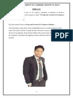e Commerceindustryinindiaprabhat