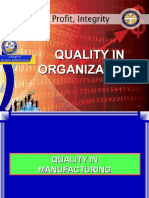 Total Quality in Business Organizations