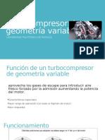 Turbocompresor de geometría variable.pptx