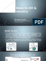 IoT – Uses in Oil & Gas Industry