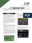 Yamaha LS-9 Supplementary Documentation
